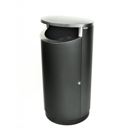 Novus 200 kaksipuoleinen roska-astia